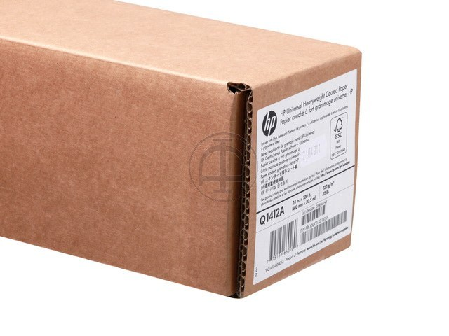 Q1412A HP COATED PAPER RL 24' 610mmx30m 120g/m2