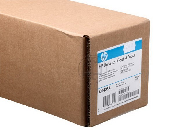 Q1405A HP COATED PAPER RL 36' 914mmx45.7m 95g/m2