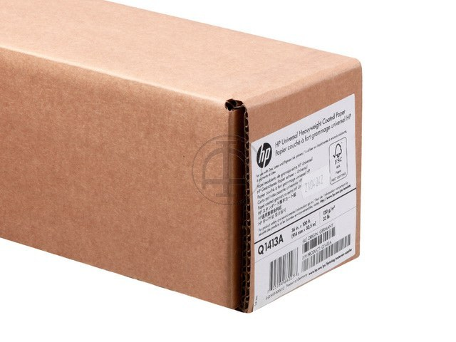 Q1413A HP COATED PAPER RL 36' 914mmx30.5m 120g/m2