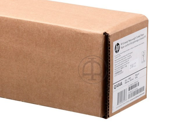 Q1414A HP COATED PAPER RL 42' 1067mmx30.5m 125g/m2
