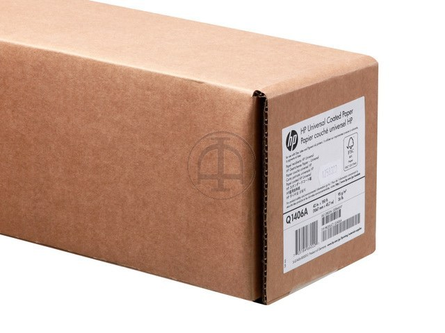 Q1406A HP COATED PAPER RL 42' 1067mmx45m 95g/m2